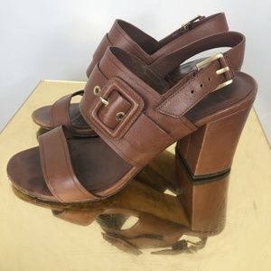 Cole Haan Brown Womens Shoe Size 7.5 M Sandals
